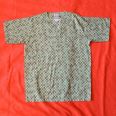 Ely & Walker Customized Vintage Pajama Top Boy's Size 14 Geometric Pattern