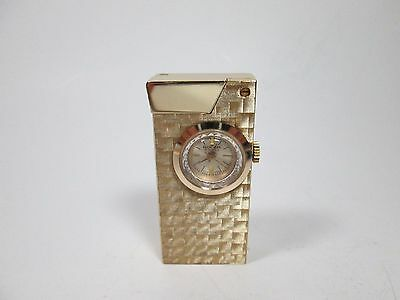 Vintage Swiss Made Gold Plated Rocar 17 Jewel Lighter Watch Tested Works!
