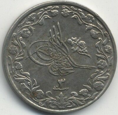 1911 Egypt 2/10 Qirsh AH1327/3***Collectors***High Grade***