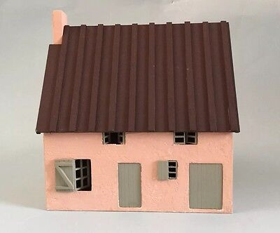 "Dolls house French Gite Kit 1/4""scale 1/48th"