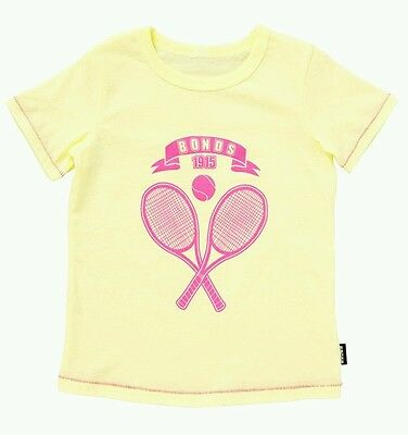 Bonds Logo Baby Top With Contrast Stitching | Size 0 BRAND NEW | Free Postage