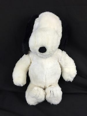 "Vintage Peanuts Snoopy Belle Dog Plush Stuffed Animal 16"" Charles Shultz 1968"