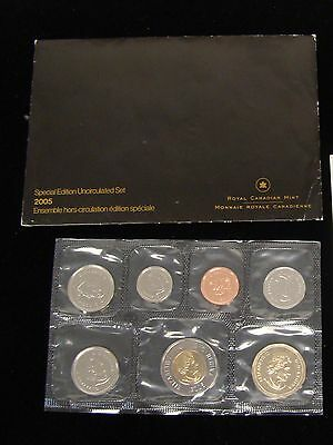 2005 CANADIAN MINT SET UNCIRCULATED 7-Coins Royal Canadian Mint Special Edition