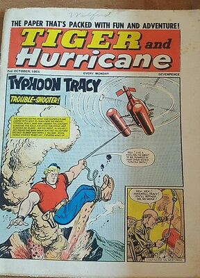 Tiger & the hurricane comic 2nd oct 1965