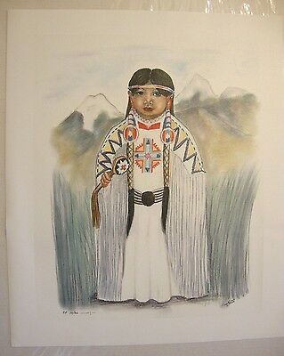 """Mahela  . by Native American Artist . Yatzie Dee """"Silver Eagle"""" . #ab854"""