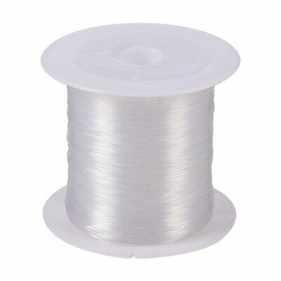 1Roll Clear Beading Nylon Cord String Wire Jewellery Thread Craft 0.3mm 80m/roll