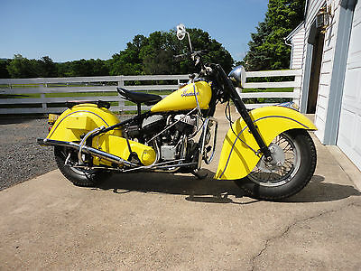 1950 Indian Chief  1950 Indian Chief Motorcycle