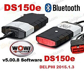 Autodiagnosi Universale Bluetooth W.0.w 2016 Auto Diagnosi Obd + Delphi 2015.1.3