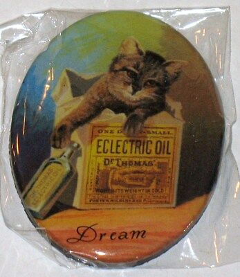 Adorable  Dream Vintage Looking Kitty  Magnet Nip