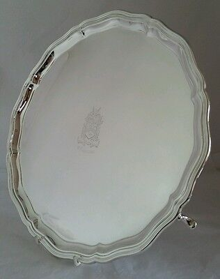 A George V sterling silver Salver. Sheffield 1921. By Northern Goldsmiths Co.