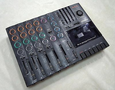 Tascam Porta 07 4-track Cassette Recorder Free Shipping AS-IS