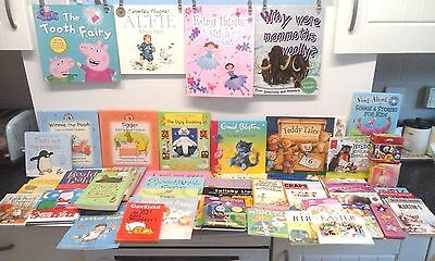 Large Joblot - of Children's Books - Ranging from Very Young Upwards x 52