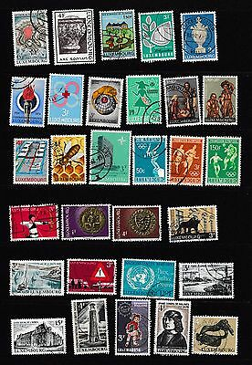 #123-Luxembourg 30 used commemorative stamps