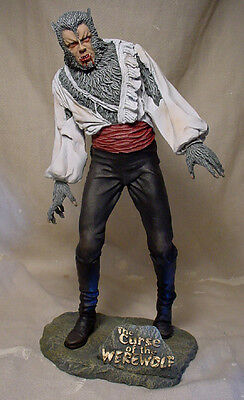 Creatures Unlimited  Curse Of The Werewolf  Resin Model Kit