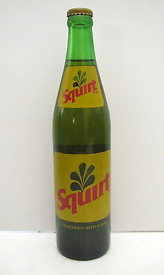 Vintage SQUIRT 473ml FULL Bottle - ACL Label - Mexico