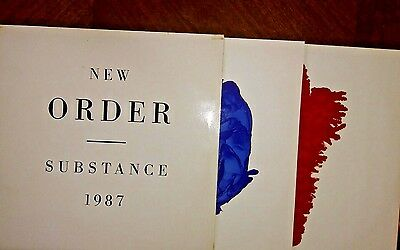 Vintage New Order Substance 1987 Vinyl LP Album Record FACT200 Double Factory