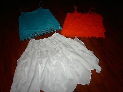 VGC~Gorgeous Ladies Summer Outfits/Bundle~x2 Tops & Skirt (size 12)