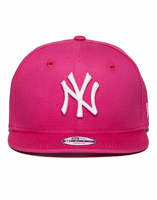 100% Genuine New Era MLB New York Yankees 9FIFTY Snapback Cap - Junior - Pink