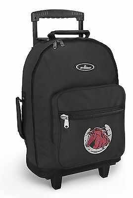 HORSES Backpack Bag with Wheels Horse Trolley Bags