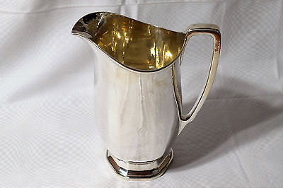 Tiffany & Co. sterling silver water pitcher, Special Hand Work