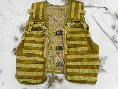 BRITISH ARMY OPS ISSUE DDPM desert DPM TACTICAL MOLLE VEST WEBBING WAISTCOAT NEW