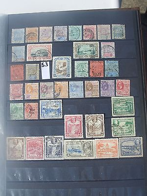 early British Guiana stamps