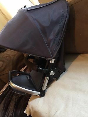 Uppababy Vista Stroller 2011 Blue Replacement Toddler Seat cover,frame,Canopy