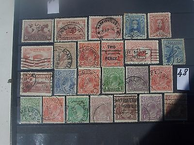 early Australia stamps