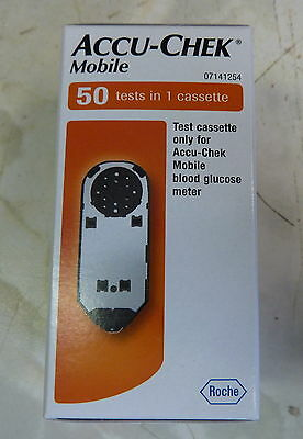 Accu-Chek mobile 50 tests in 1 cassette exp Min 05-2018