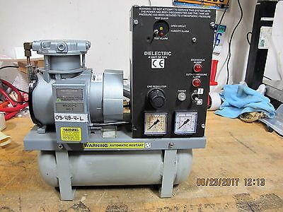 DIELECTRIC TECHNOLOGIES MX-200 Air Dryer Compressor Dehydrator / Gast Pump [B7FL