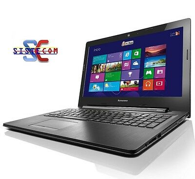 ORDENADOR PORTATIL Lenovo G50 Intel® i5 2.6Ghz / 8GB DDR3 / 1TB HDD  (REF: 8895)