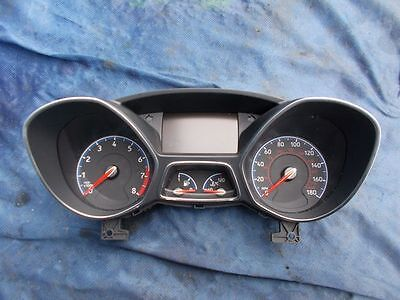 Ford Focus Rs Mk3 Instrument Cluster Speedo Clock Dial Speedometer