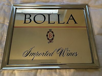 Bolla Imported Wines Mirror- Metal Frame