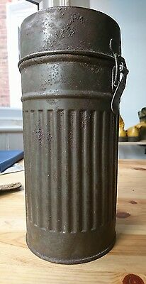 ww2 German Gas Mask container 100% original