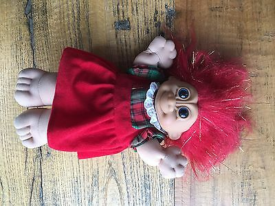 Red Dress Large Soft Body Russ Troll Doll