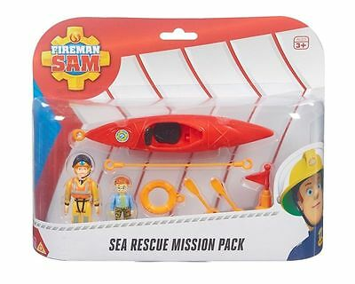 Fireman Sam Sea Rescue Mission Pack - Brand New with Fireman Sam, Norman Price