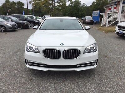 2015 BMW 7-Series 740iLD xDrive 2015 BMW 7-Series 740iLD xDrive 22,000 Miles White SEDAN 4-DR 3.0L L6 DOHC 24V D