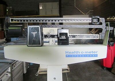 Health-O-Meter Professional Physician Beam Scale 402KL 350 Lbs.