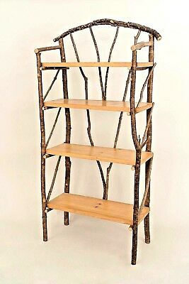 Rustic Adirondack (20th Cent.) Etagère (Shelving Unit)