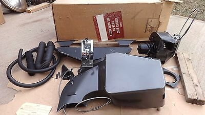 NORS 1955 Chevy FRESH AIR HOT WATER HEATER w CONTROLS original WARDS WINTER KING