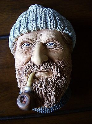 Bossons Vintage Chalk Head Fisherman 1990 Made In England