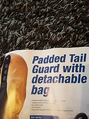 Premier Equine Padded Horse Tail Guard with bag