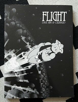CEREBUS vol 7: FLIGHT (tpb) - Dave Sim (w/a) & Gerhard (a)