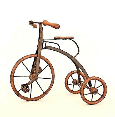 American Country Style (19/20th Cent) Folk Art Tricycle Model