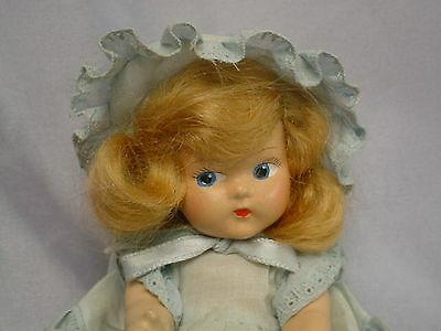Vogue Strung Toddles 1946-47 Painted Eye DOLL Tagged Outfit w/Box