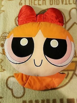 "The Power Puff Girls Approx 18"" Blossom Pillow Plush By Trendmasters"