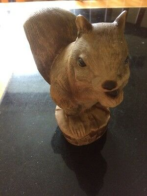 Purbeck Pottery  Dorset Like Poole  A Squirrel Figure