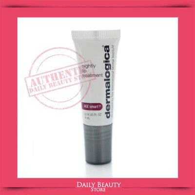 Dermalogica Age Smart Nightly Lip Treatment 4ml 0.14oz Travel Size NEW FAST SHIP