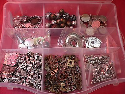 Gran Lote Diy Bisutería Charms Colgantes Metal, Jewelry Lot Metallic Supplies