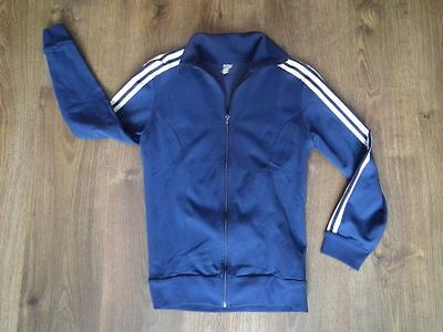 Adidas 80's 90's Europe Blue Track Top   100% Authentic